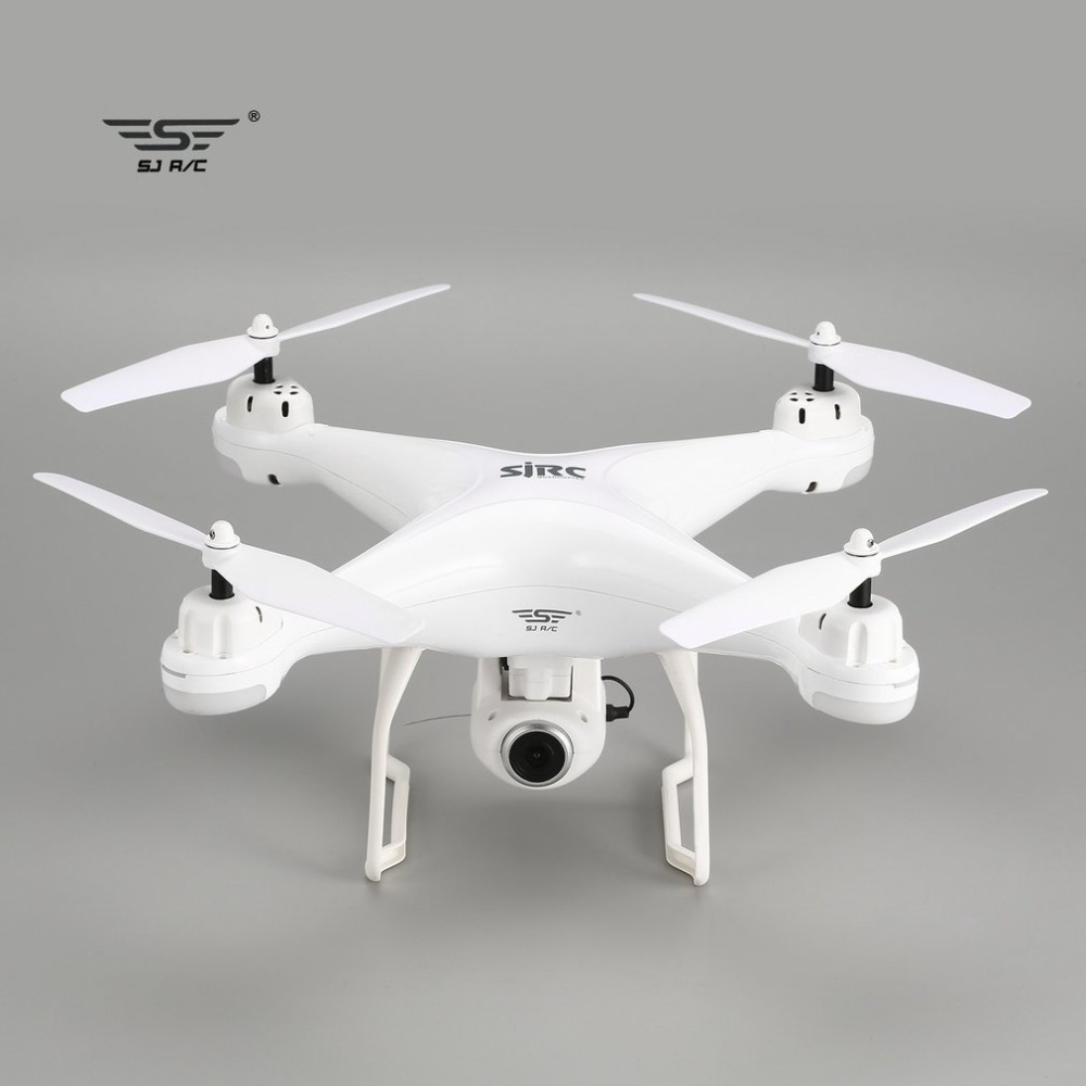 SJ R/C S20W Double GPS FPV Drone rc 720 P 1080 P Caméra Selfie Maintien D'altitude Drone Headless Mode retour automatique Hover quadcopter rc