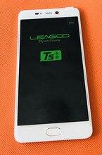 """משמש מקורי מגע מסך + תצוגת LCD + מסגרת עבור Leagoo T5 MT6750T אוקטה Core 5.5 """"FHD 1920x1080 משלוח חינם"""