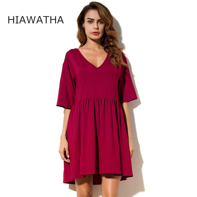 Casual Burgundy Dresses