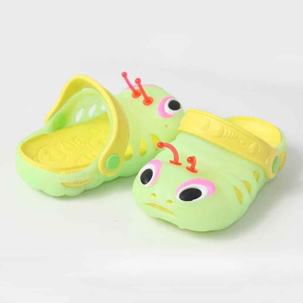 Moda dla dzieci ogród owad kapcie dziecko chłopcy dziewczęta poślizgu Lighe waga plaży Hole sandały do domu dla dzieci buty na świeżym powietrzu (US rozmiar)