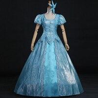 2016 New Movie Mermaid Princess Cosplay Costume Adult Princess Ariel Dress Women Halloween Costume Customized