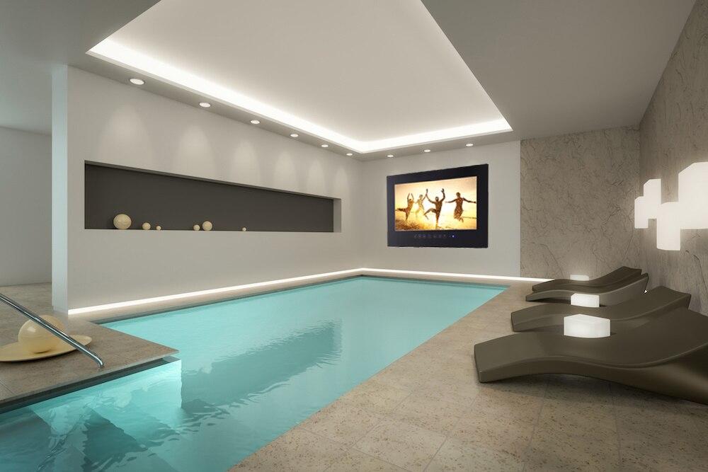 Souria 32 inci IP66 Waterproof Kamar Mandi Full HD LED TV Hotel Mewah - Audio dan video rumah - Foto 6