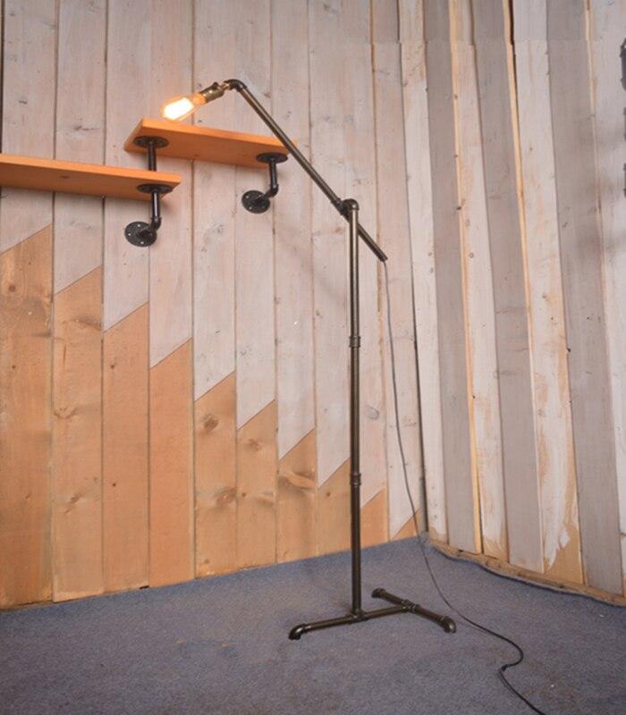 American Retro Floor Lamp Industrial Wind Iron Floor Lamp