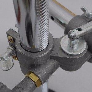 Image 3 - Sobre 50 vendido 36x33cm suporte titular da tocha de soldagem mig gun titular braçadeira montagens mig mag co2 tig positioner plataforma giratória