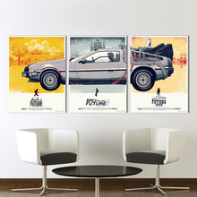 3 Pieces Back to the Future Phantom City Painting Wall Pictures