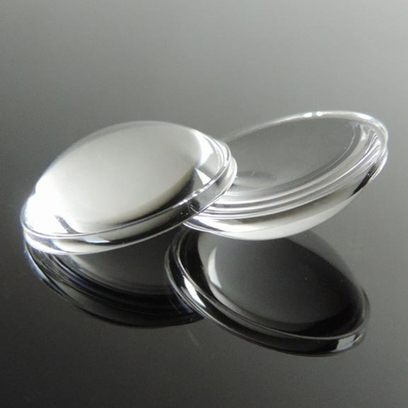 10 Pcs / Lot, 16MM Diameter  5-65 4.92 High Degree Hemispherical Lens, Flashlight Lens 16 * 16 * 4, PMMA Materials,free Shipping