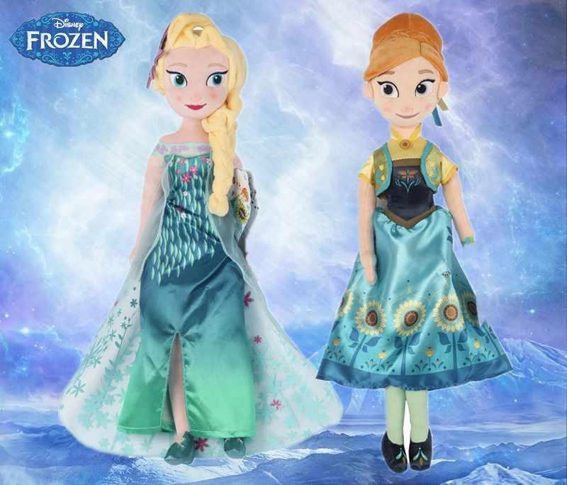 Disney Frozen 2 40 см 50 см Эльза Анна плюшевые игрушки кукла принцесса Анна плюшевая Эльза плюшевые игрушки мягкие игрушки Brinquedos Для детей