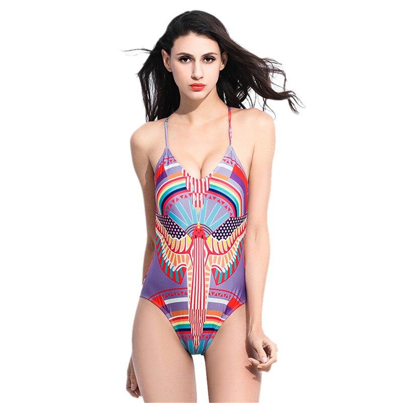 vendita calda stampa floreale di un pezzo del costume da bagno sexy costumi da bagno monokini