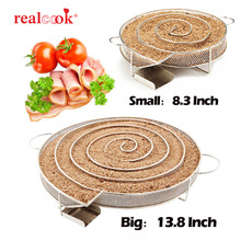 13.78 inch Cold Smoke Generator for Smoker BBQ Grill Cold Smoke Generator Smoker Wood Pellet Kitchen Supplies