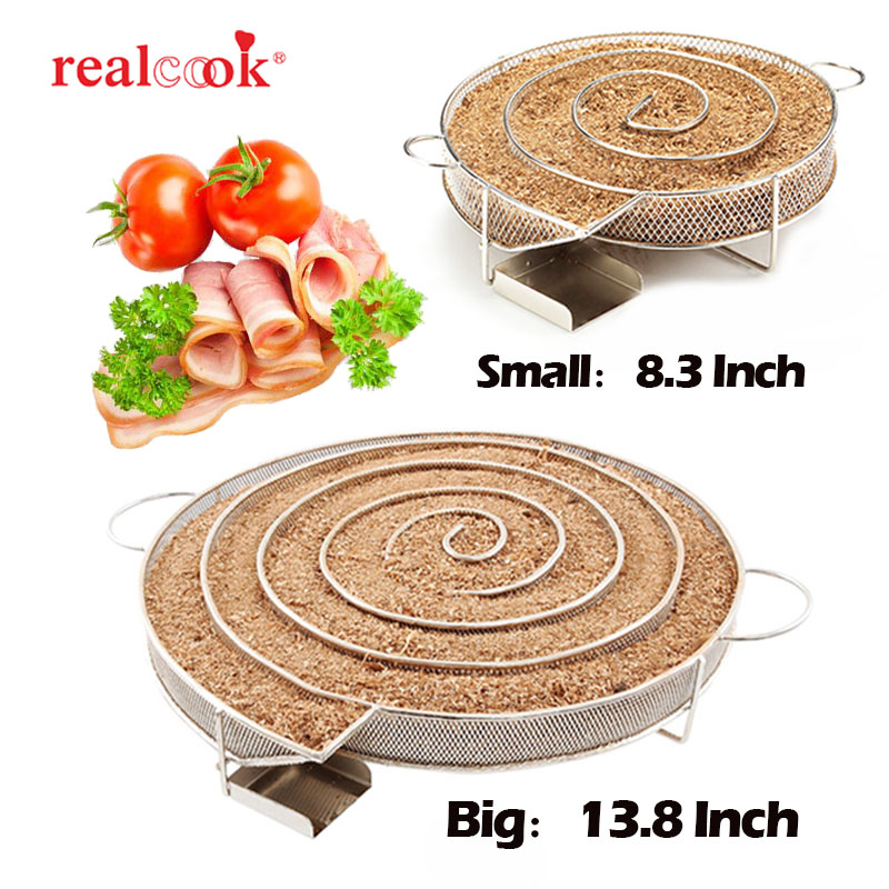 13.78 inch Cold Smoke Generator for Smoker BBQ Grill Cold Smoke Generator Smoker Wood Pellet Kitchen Supplies image
