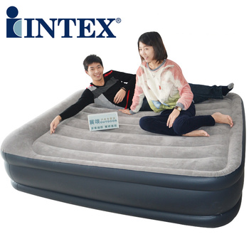 Submersible pump intex inflatable bed air bed large double layer double inflatable mattress 67736 sofa cama inflable