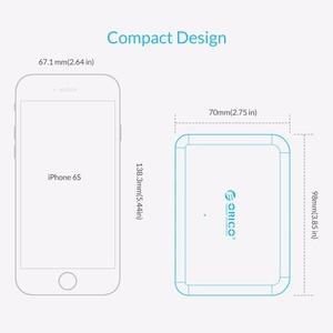 Image 5 - Orico 5 portas usb carregador 8a 40w universal carregador ue eua reino unido au plug adaptador do telefone móvel para huawei samsung xiaomi htc