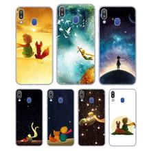 цена Silicone Phone Case The Little Prince With the fox for Samsung Galaxy Note 8 9 M30 M20 M10 S10 S9 S8 Plus Lite S6 S7 Edge Cover