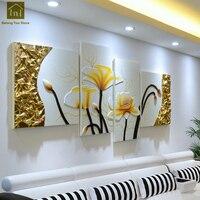 Украшение стены картина Гостиная выполненные стены холсте печатает изображение Diy живопись Toile Peinture украшения дома LKM033
