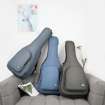 "40/41"" Acoustic Classical Guitar Bag Case Backpack Double Shoulder Straps Portable 25mm Thicken Pad Oxford Backpack Funda Guitar"