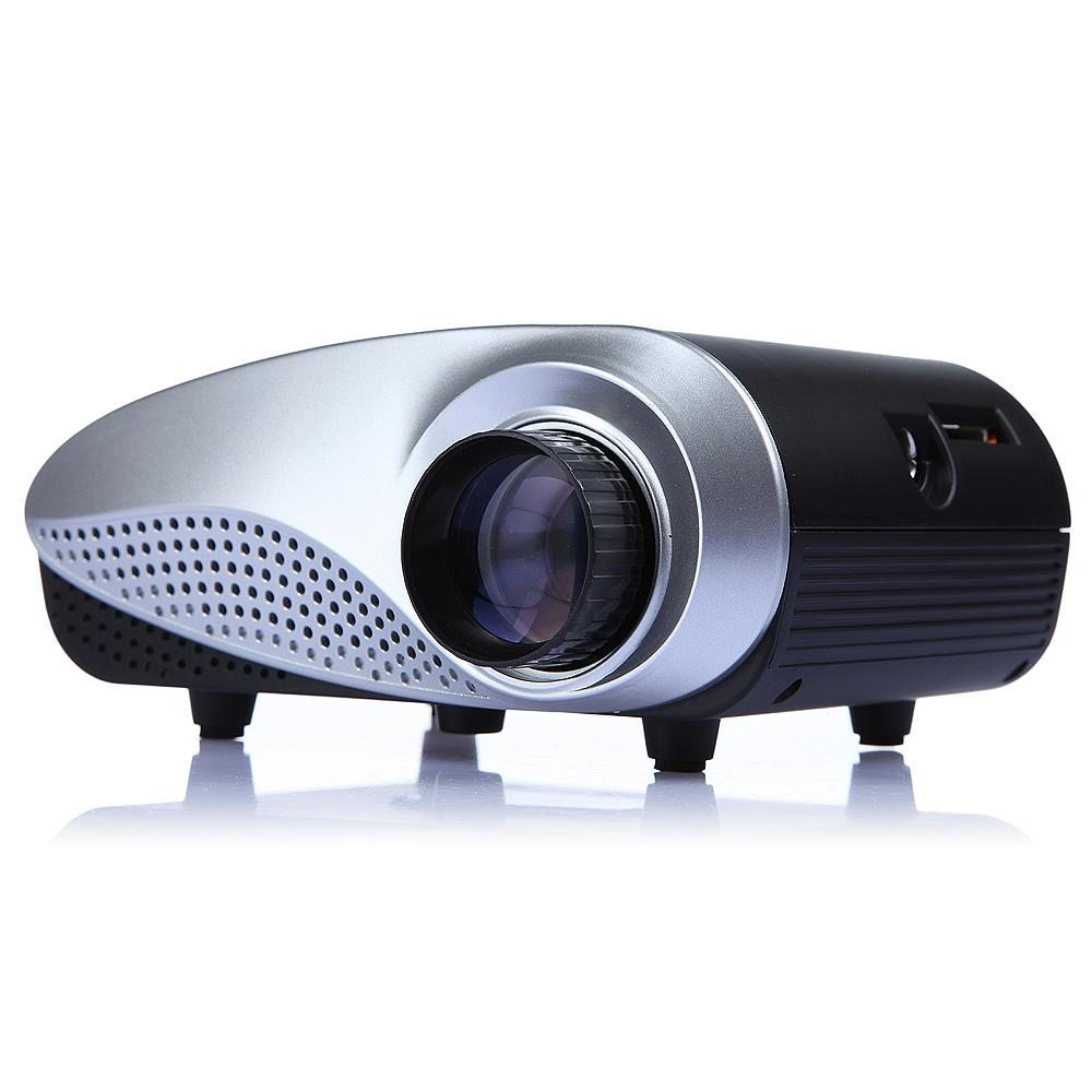 Hot 1080p hd 320 x 240 mini portable home theater led for Best portable projector