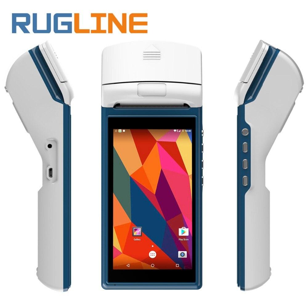 Android 3G WIFI Bluetooth Alta Velocità Stampante Termica Ricevuta Bill Ordine stampa Handheld Mobile Sistema POS Terminale per il ristorante