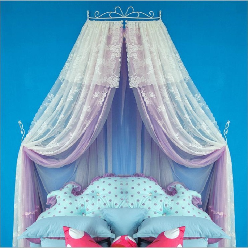 Luxury Palace Princess Mosquito Net Double Lace Bed Canopy