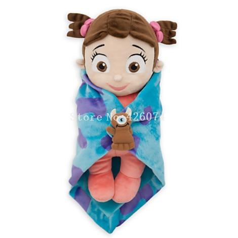 New Monsters Inc Babies Boo Girl Plush 28CM Kids Stuffed Toys F Children Gifts