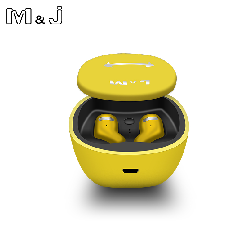 M&J TWS Bluetooth 5.0 Earphones And Earbuds With Mic For Handsfree Call 19