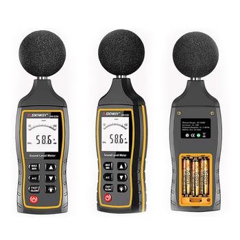 SW523 40-130dB cyfrowy miernik poziomu dźwięku miernik decybeli rejestrator hałasu Audio detektor cyfrowe narzędzie diagnostyczne motoryzacja mikrofon tanie i dobre opinie SNDWAY SW-523 40 ~ 130dB