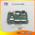 Original usado funcionan bien para lenovo a859 motherboard mainboard junta envío gratis