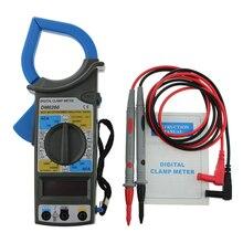 Digital Multimeter AC/DC Current Mini Clamp Meters Capacitance Tester Anti-magnetic  Digital Earth Ground Multimeter