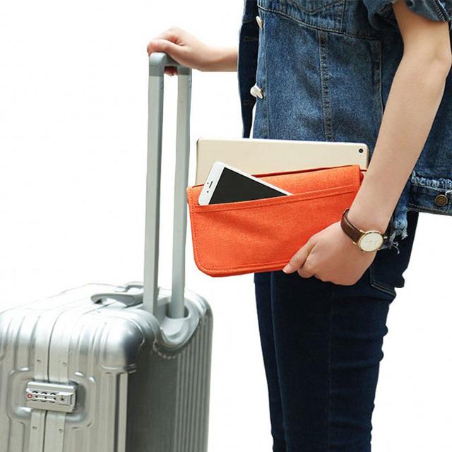 New Passport Travel Wallet Document Passport Holder Multi-purpose Credit Card Package ID Holder Storage Organizer Clutch