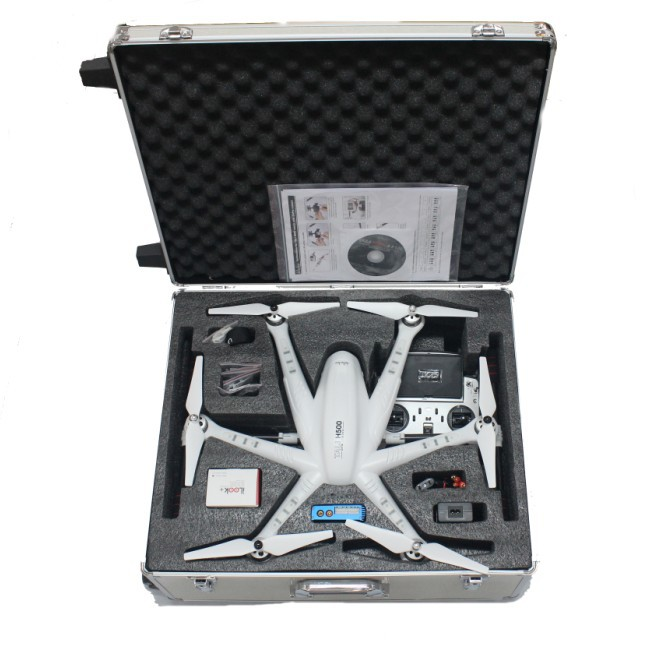 Walkera TALI H500 FPV Drone Hexacopter RTF With DEVO F12E Battery G-3D Gimbal Charger ILOOK + Full Set with Carry Case yuneec typhoon h 5 8g fpv drone with realsense module cgo3 4k camera 3 axis gimbal 7 inch touchscreen rc hexacopter rtf