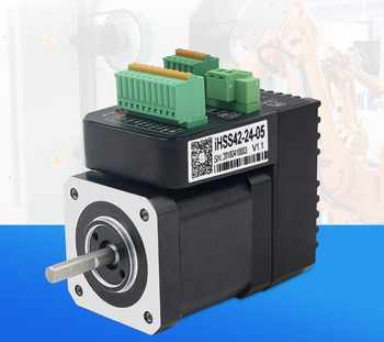 New Integrated step servo motors NEMA 17 IHSS42-24-05 output 0.48NM with 1000 lines encoder Closed Loop Stepper system - Category 🛒 Home Improvement