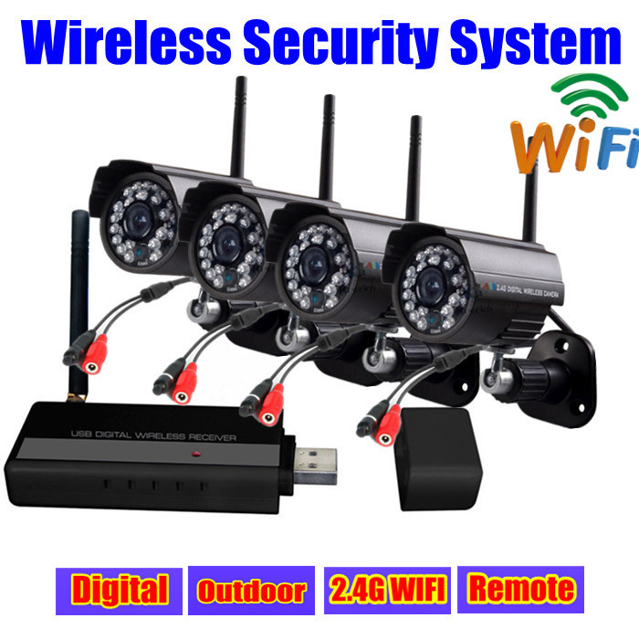 buy digital 2 4g ir usb video surveillance security camera ip network wifi. Black Bedroom Furniture Sets. Home Design Ideas