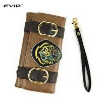 FVIP Harry Potter Hogwarts Castle Crest Envelope Satchel Fold Women Long Wallet Famous Design Lady S