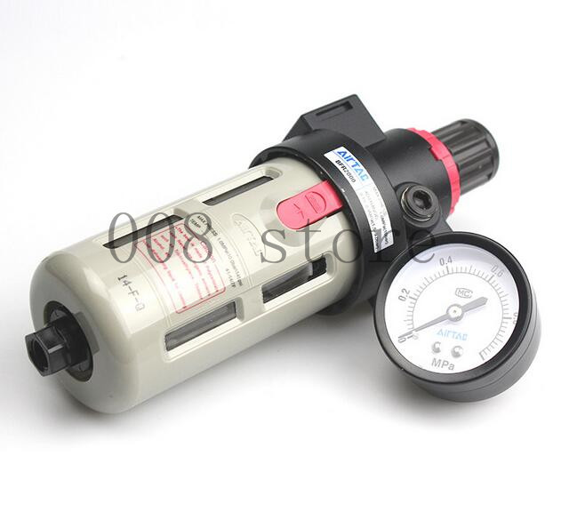 Free Shipping 1/4 Pneumatic Source Treatment Unit BFR2000 , Air Filter Pressure Regulator melissa