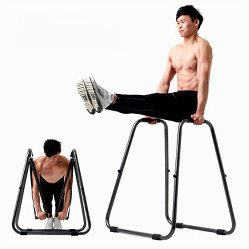 Multifunctional Detachable Parallel Bars, Body Press Dip Bar Fitness Station, Heavy Duty Strength Power Training Stand