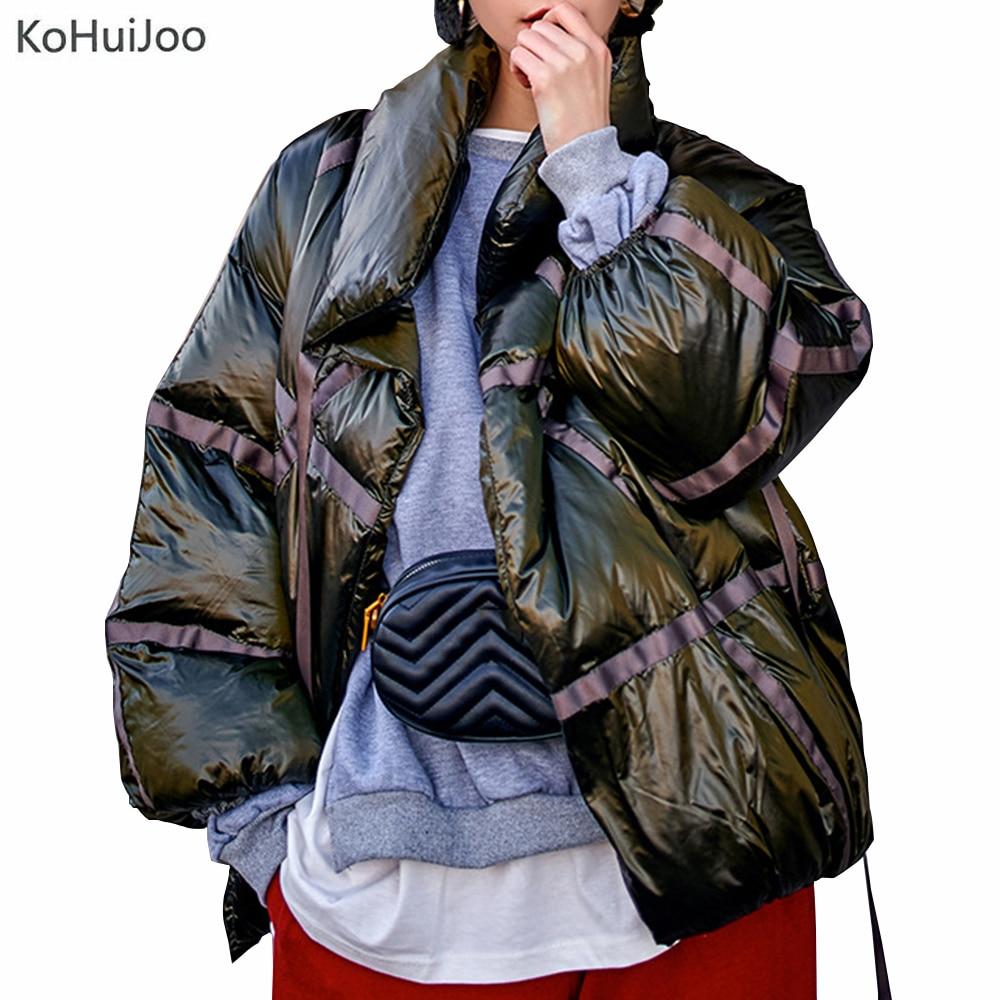 La Manches 2019 As Femme Rembourré Veste Nouveau Mode L'hiver Plus Longues Designer Pour Picture The Vêtements Parka Taille Vintage Lâche Femmes Manteau Kohuijoo RzH6Xqwxw