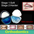 Adultos Alineación enderezar los dientes buck dientes de retención de retención de ortodoncia brackets irregular de dientes brackets dentales Boquillas