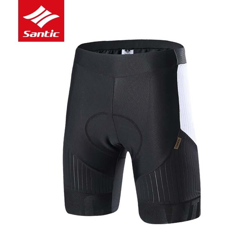 Новые Santic мужские весенне летние велосипедные шорты с защитой от пота MTB шоссейные велосипедные шорты для гонки итальянские импортные Брюк...