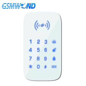 AAA Battery Keypad Wifi 433mhz Wireless-Keyboard Our-Pg103/w2b Touch for GSM Home Burglar-Alarm-System