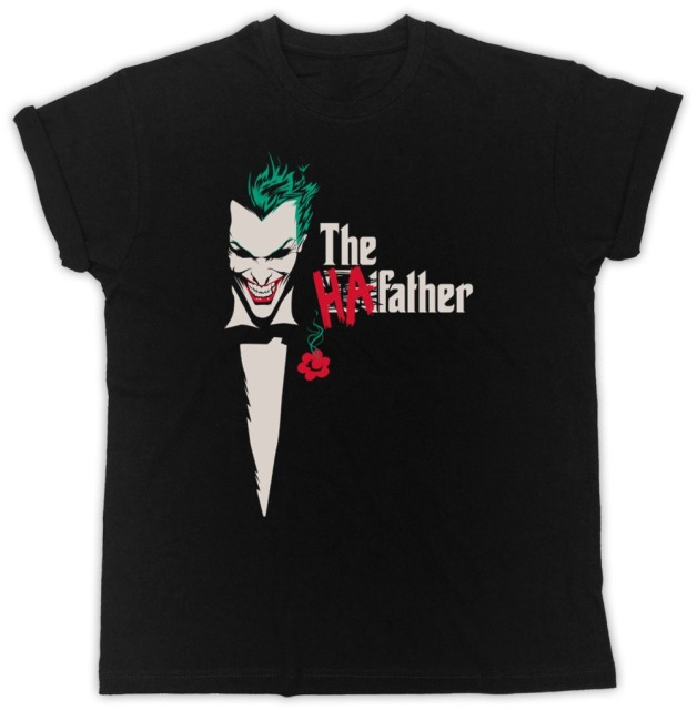 Batman The Dark Knight Joker Ha Ha T Shirt Heath Ledger Suicide Squad Tshirt by Gildan