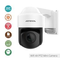 ATFMI 1080P 2MP IP Camera ptz Outdoor surveillance 2.8 12mm Auto focus Waterproof Night Vision Wireless Security wifi onvif