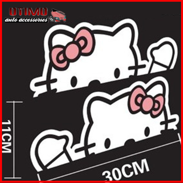 Graphics For Hello Kitty Car Vinyl Window Graphics Www - Hello kitty car decal stickers