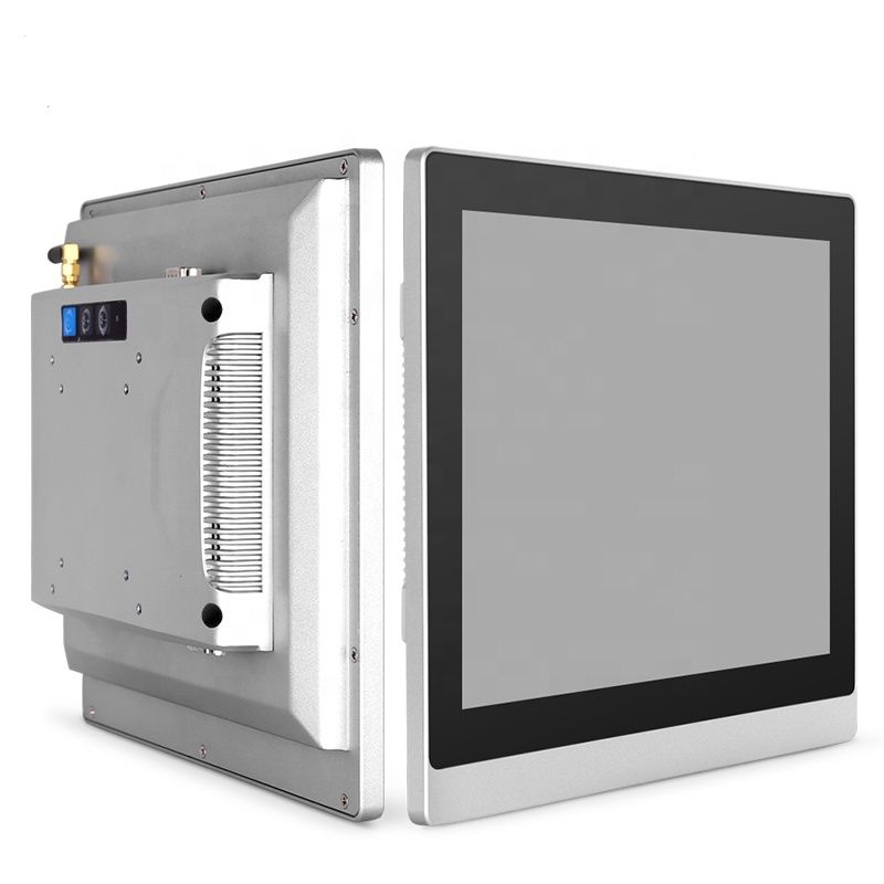 15 Inch Fanless Cheap Panel Pc Intel J1900 Industrial Computer All In One With Resistive Touch Screen