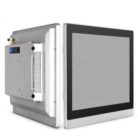 15 polegada fanless panel pc intel j1900 barato computador industrial all in one com tela