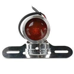 12V cafe racer motocykl kierunkowskaz i światła hamowania motocykl czerwony hamulec światło cofania żarówka na motocykl harley Bobber Custom