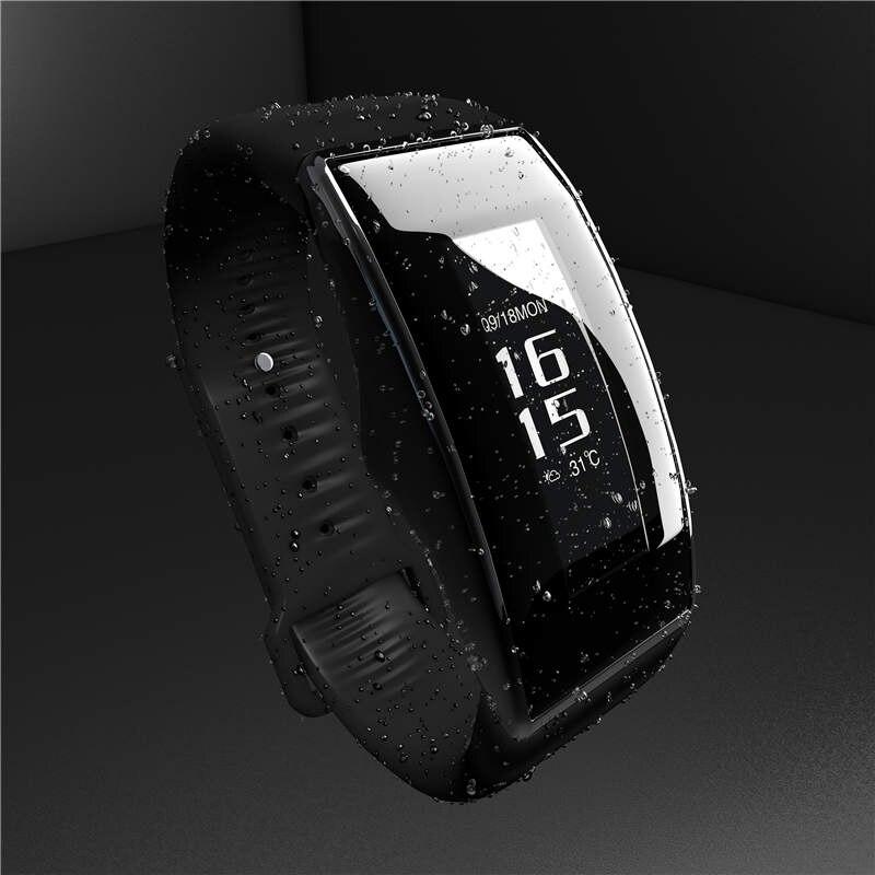 SOGRACE Pulseiras Inteligentes Bluetooth Lembrete Mensagem Relógios Pulseira de Relógio De Fitness Pedômetro Passometer Sono Rastreador Inteligente S09