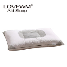 neck protecting bedding pillow Lavender semen Cassia filled health care pillows high quality 45*70cm