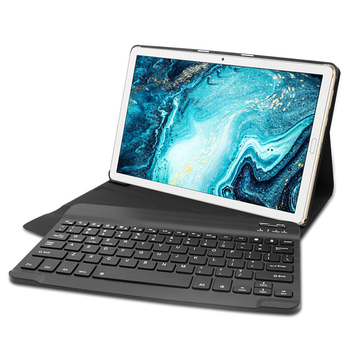 10.1 Tablet Case With Keyboard | Tablet Magnetic Leather Stand Case Cover For Huawei Mediapad M6 10.8 Inch 2019 Removable Bluetooth Keyboard Case Cover+Cable S30