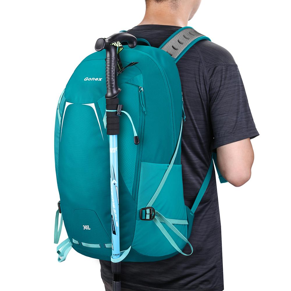 Day Hiking Backpack Women Men Waterproof 35L Large Capacity Lightweight Fashionable Backpacking Pack for Outdoor Sports Camping Travel Mountaineering Trekking Climbing Daypacks