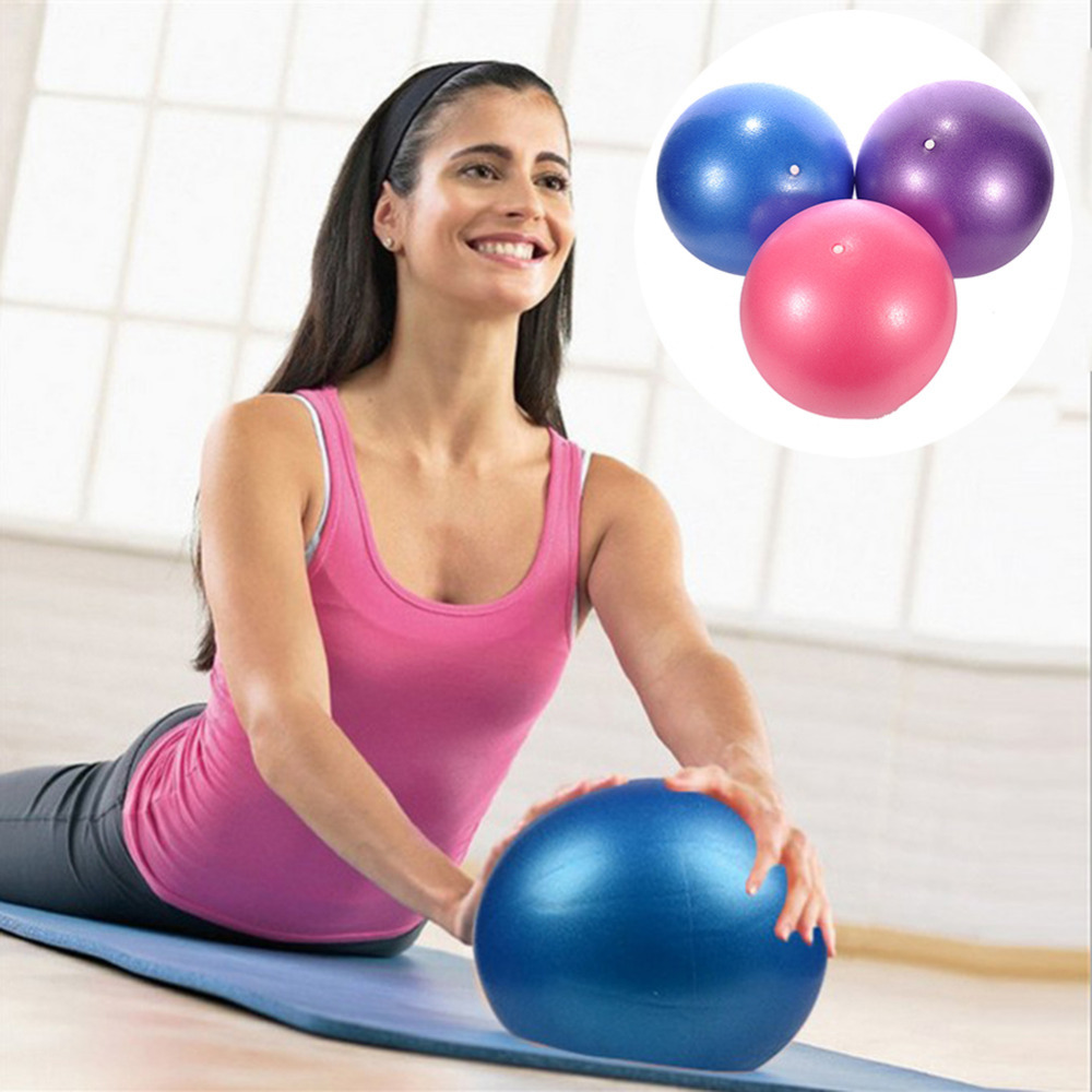 25cm Sports Yoga Balls Bola Pilates Fitness Gym Balance Fitball Exercise Pilates Workout Massage Ball