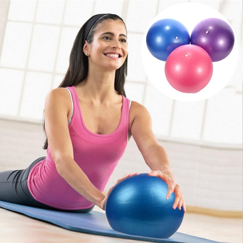 25cm Sports Yoga Balls Bola Pilates Fitness Gym Balance Fitball Exercise Pilates Workout Massage Ball